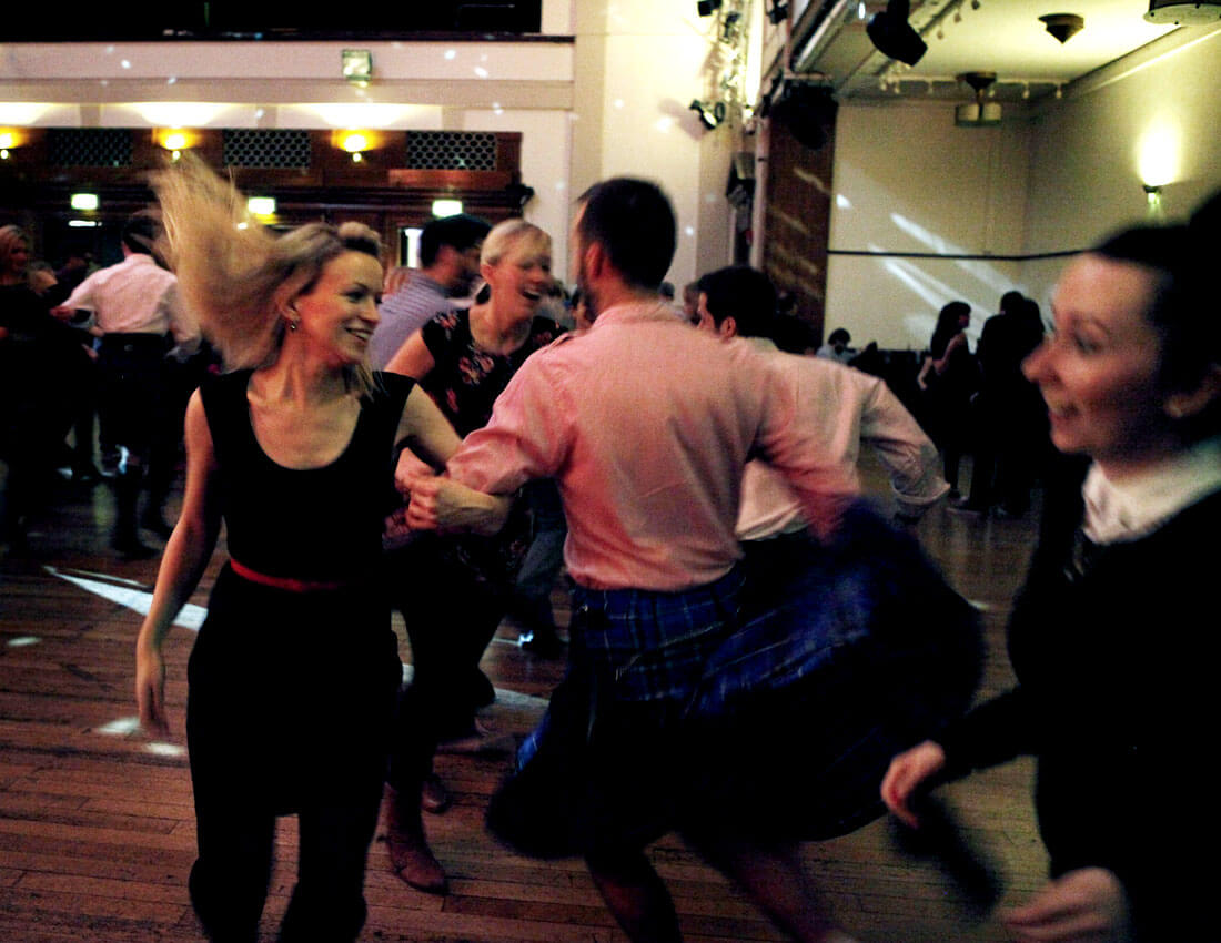 Scottish country dancing london