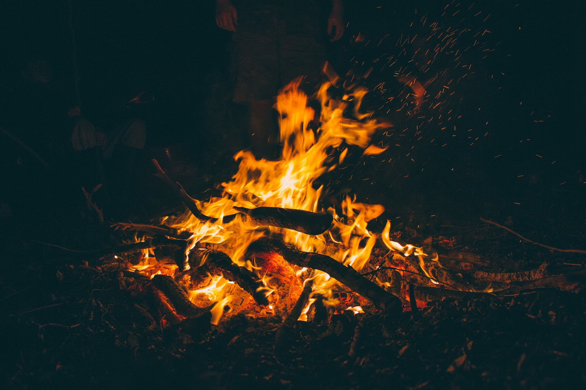 Picture of a bonfire