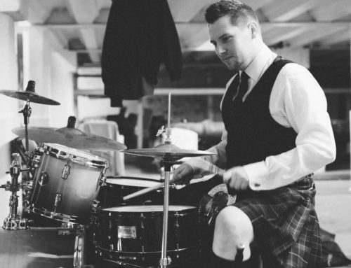 London Drumming – with Tom Adamson. London Scots Podcast